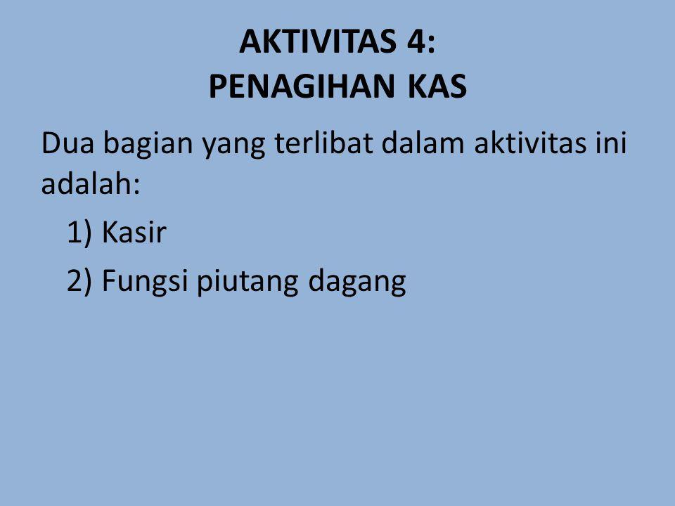 AKTIVITAS 4: PENAGIHAN KAS