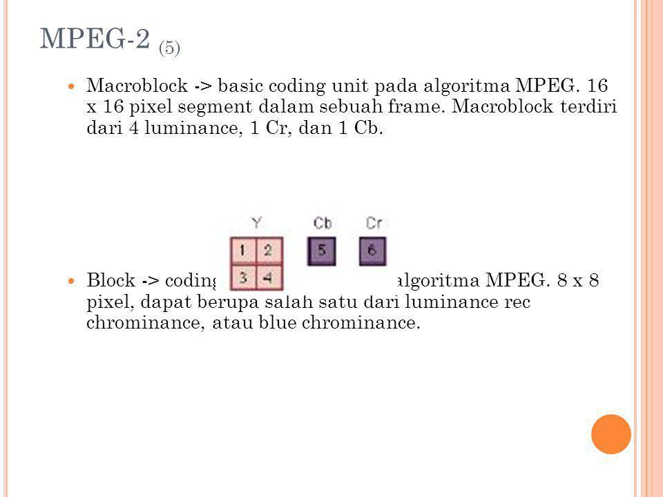 MPEG-2 (5)