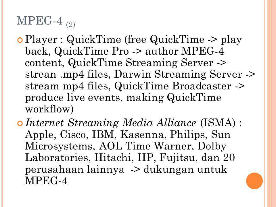 MPEG-4 (2)