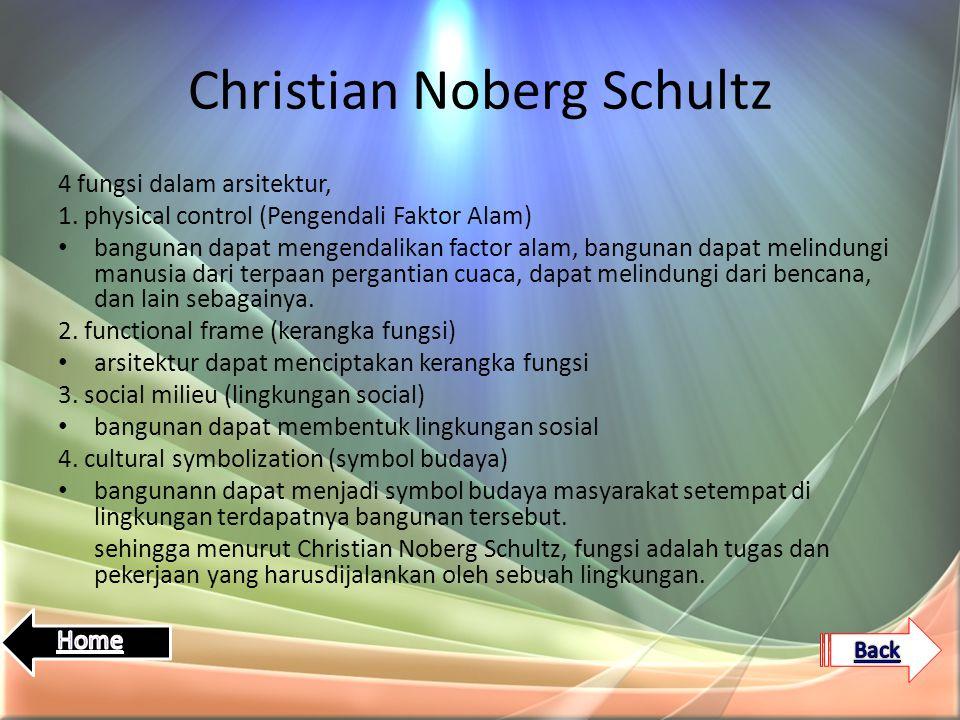 Christian Noberg Schultz
