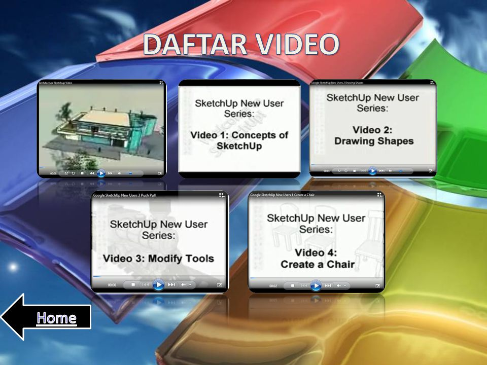 DAFTAR VIDEO Home