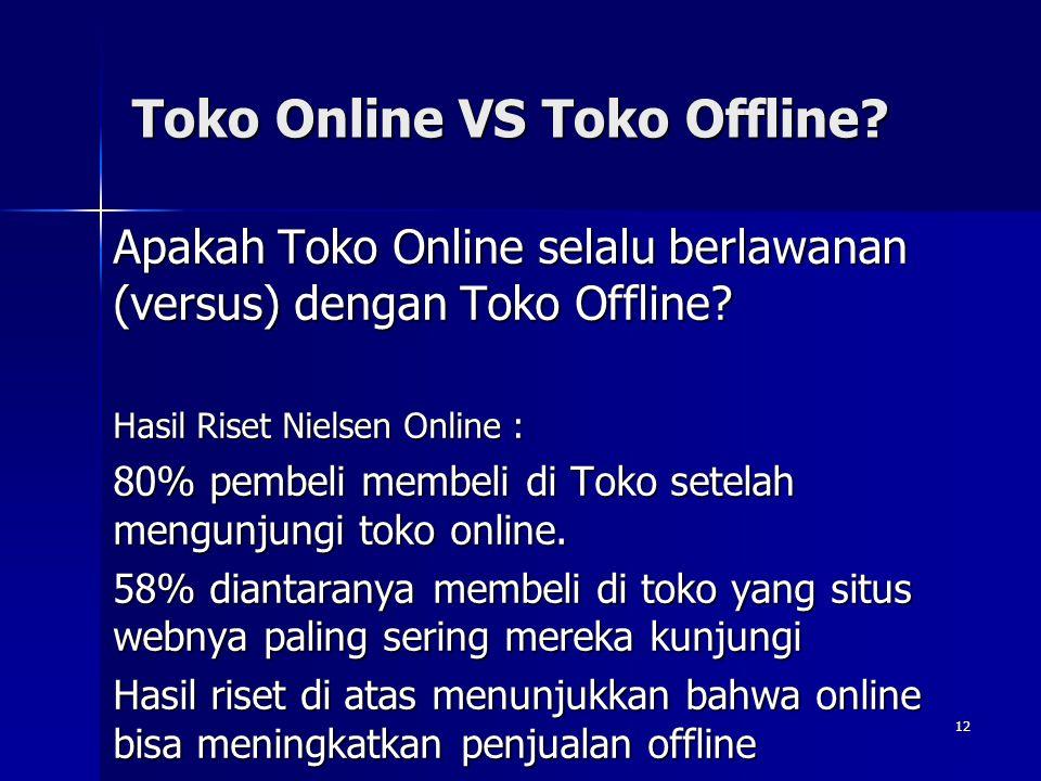 Toko Online VS Toko Offline