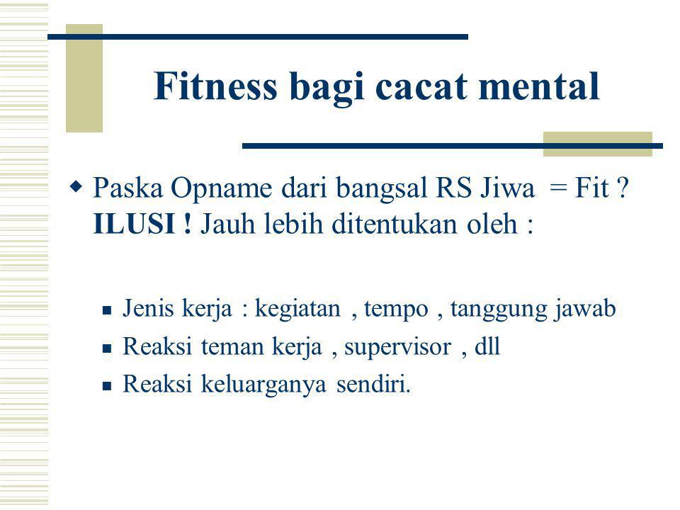 Fitness bagi cacat mental