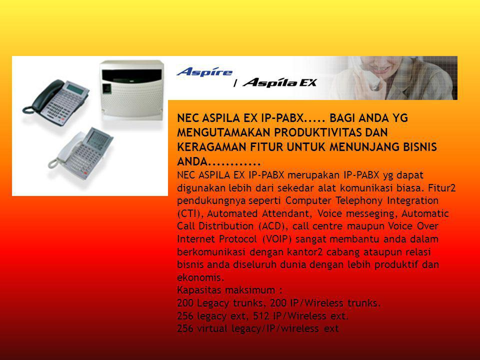 NEC ASPILA EX IP-PABX.....