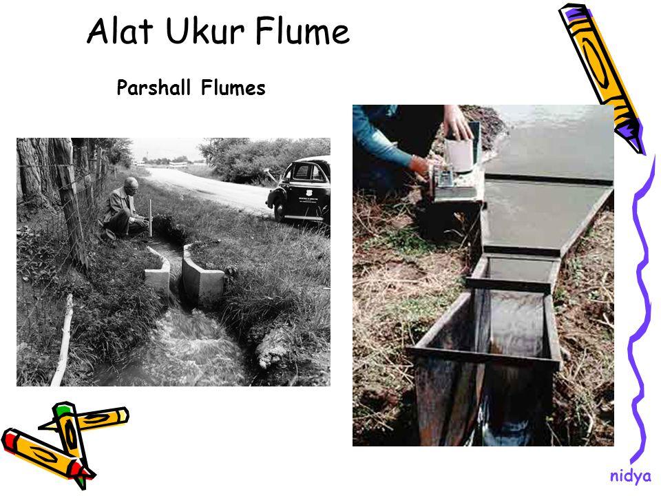 Alat Ukur Flume Parshall Flumes nidya