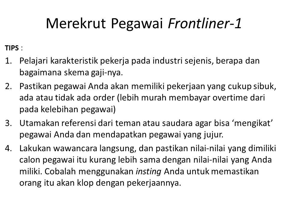 Merekrut Pegawai Frontliner-1