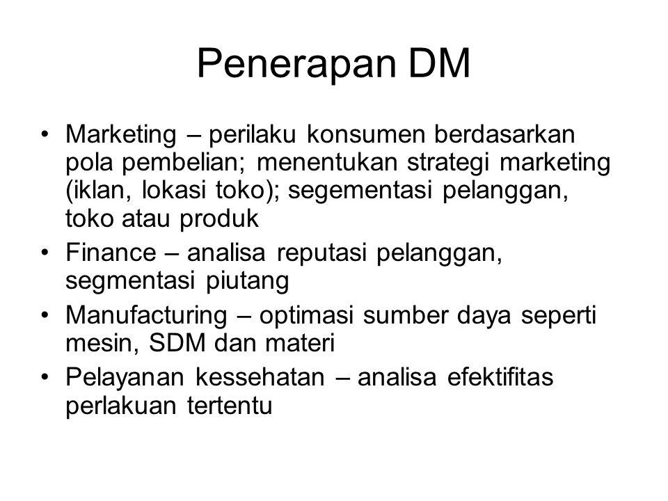 Penerapan DM
