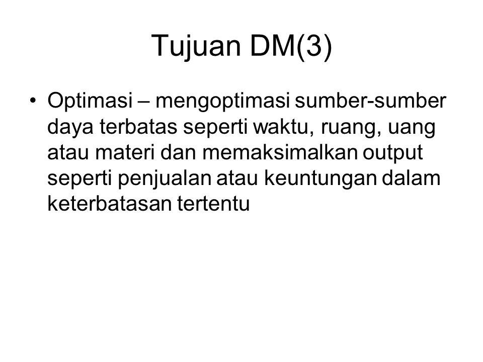 Tujuan DM(3)
