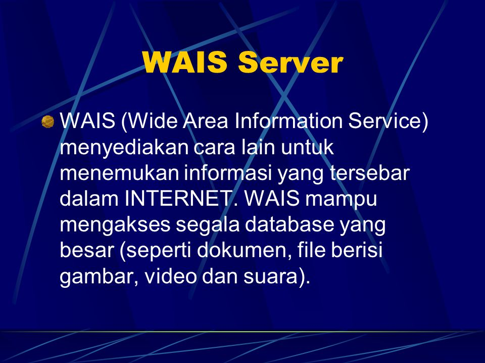 WAIS Server