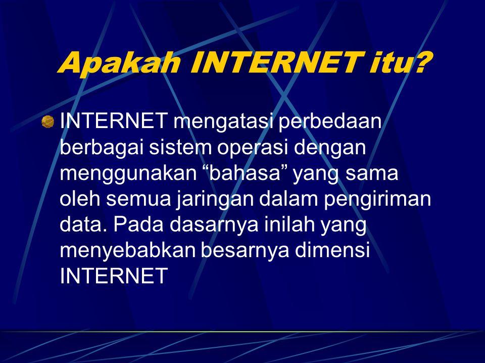 Apakah INTERNET itu