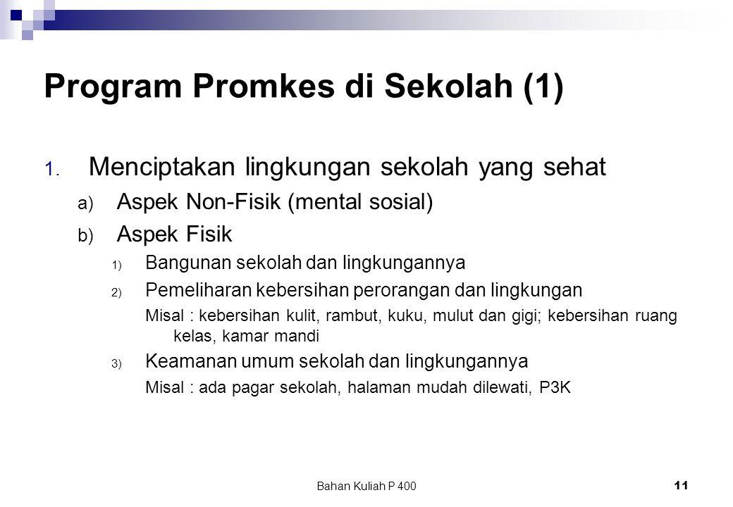 Program Promkes di Sekolah (1)