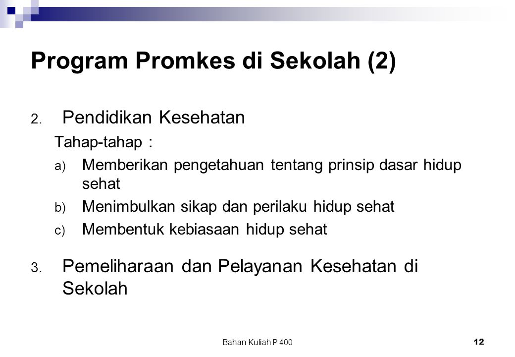 Program Promkes di Sekolah (2)