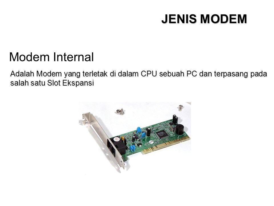 JENIS MODEM Modem Internal