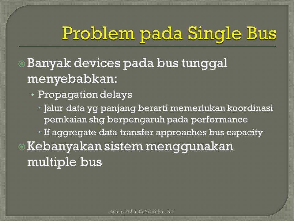 Problem pada Single Bus