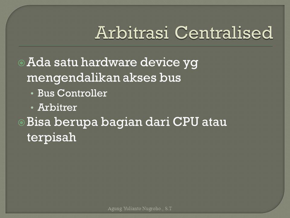 Arbitrasi Centralised