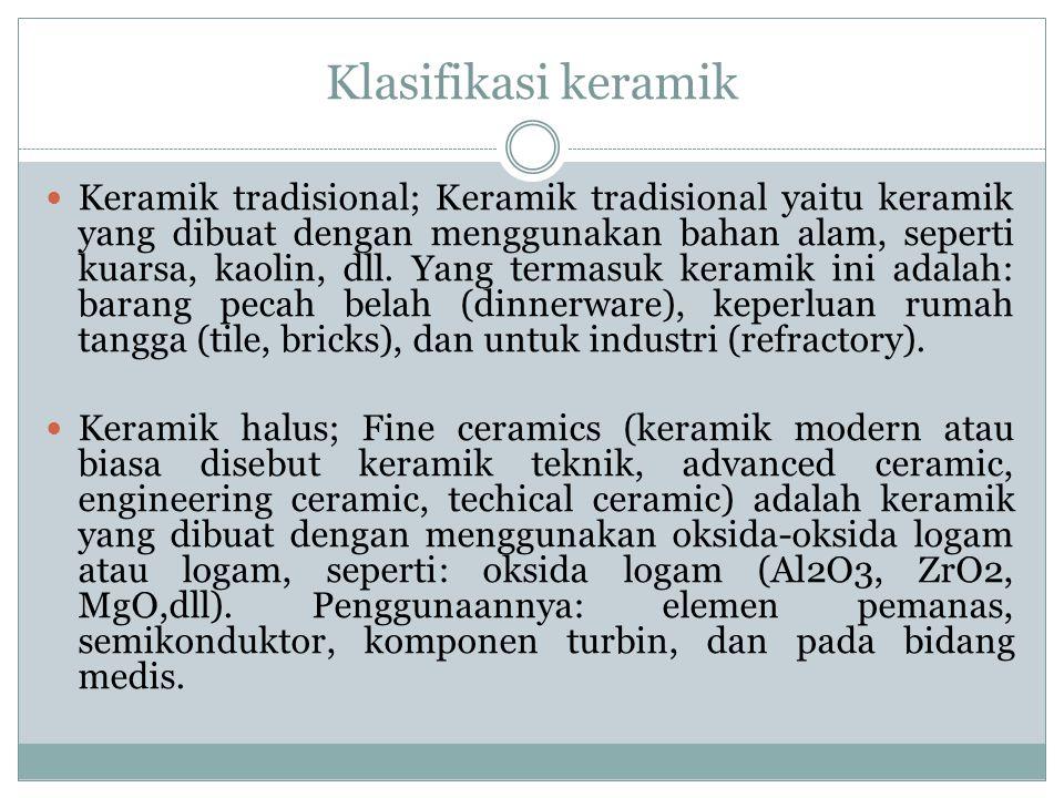 Klasifikasi keramik