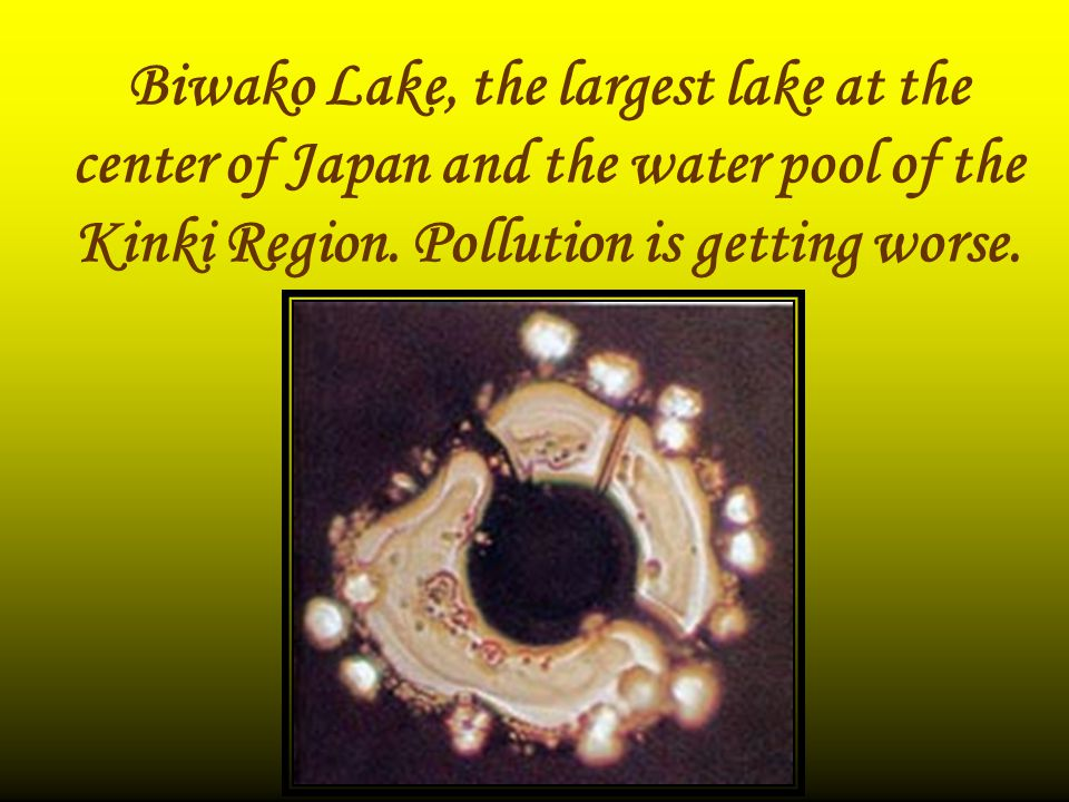 Biwako Lake, the largest lake at the center of Japan and the water pool of the Kinki Region.