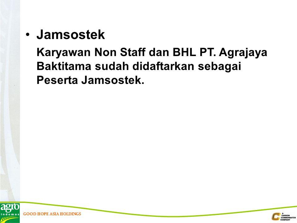 Jamsostek Karyawan Non Staff dan BHL PT.