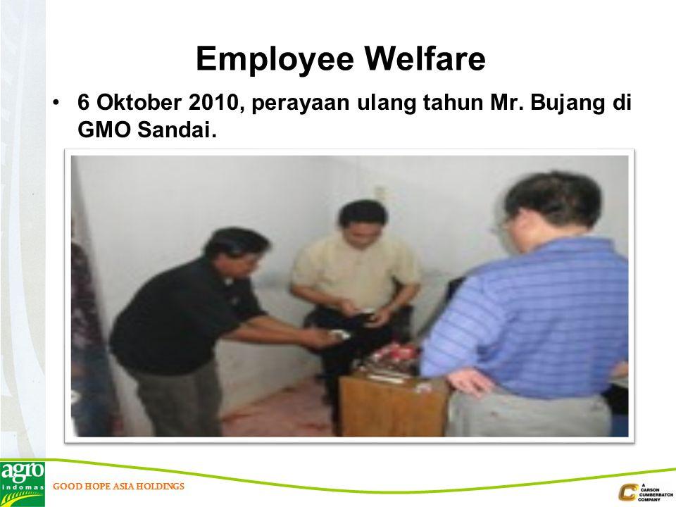 Employee Welfare 6 Oktober 2010, perayaan ulang tahun Mr. Bujang di GMO Sandai.