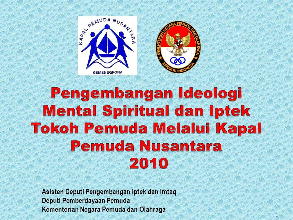 Pengembangan Ideologi Mental Spiritual dan Iptek Tokoh Pemuda Melalui Kapal Pemuda Nusantara 2010