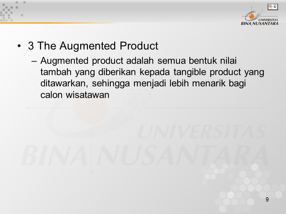 3 The Augmented Product