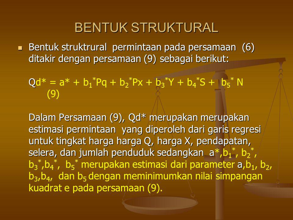 BENTUK STRUKTURAL