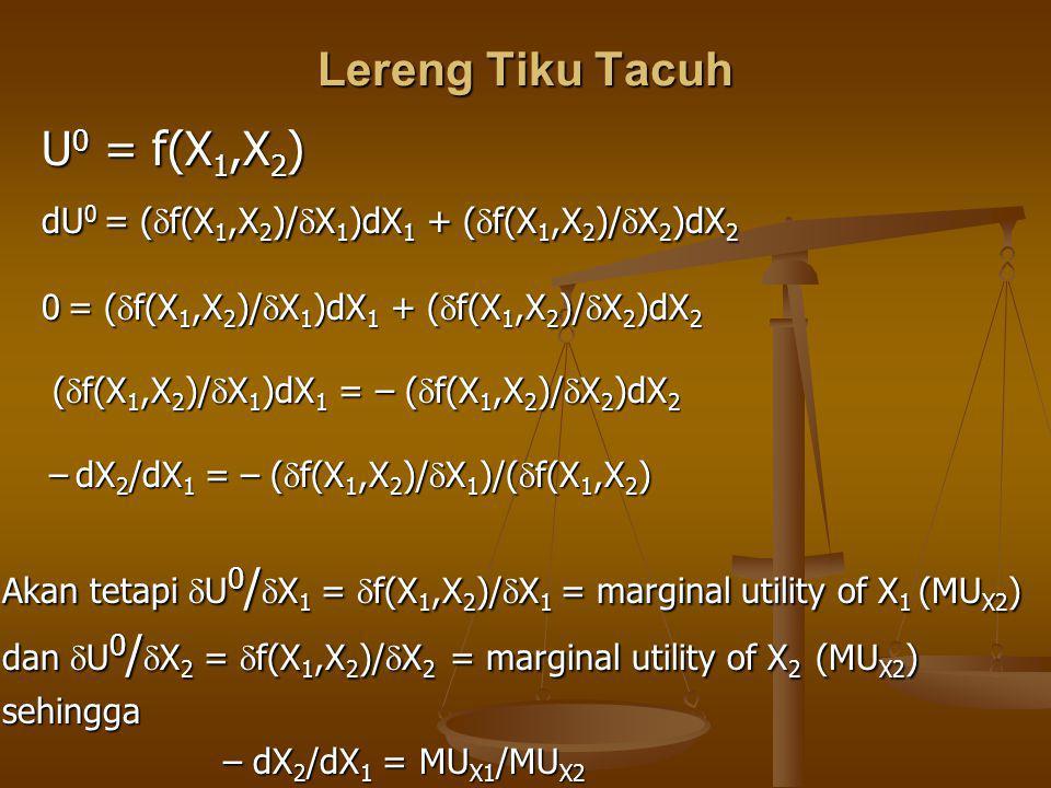 dU0 = (f(X1,X2)/X1)dX1 + (f(X1,X2)/X2)dX2