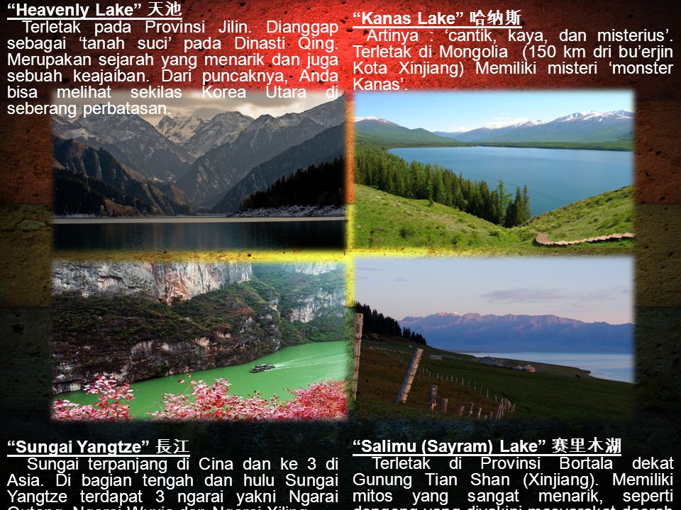 Heavenly Lake 天池