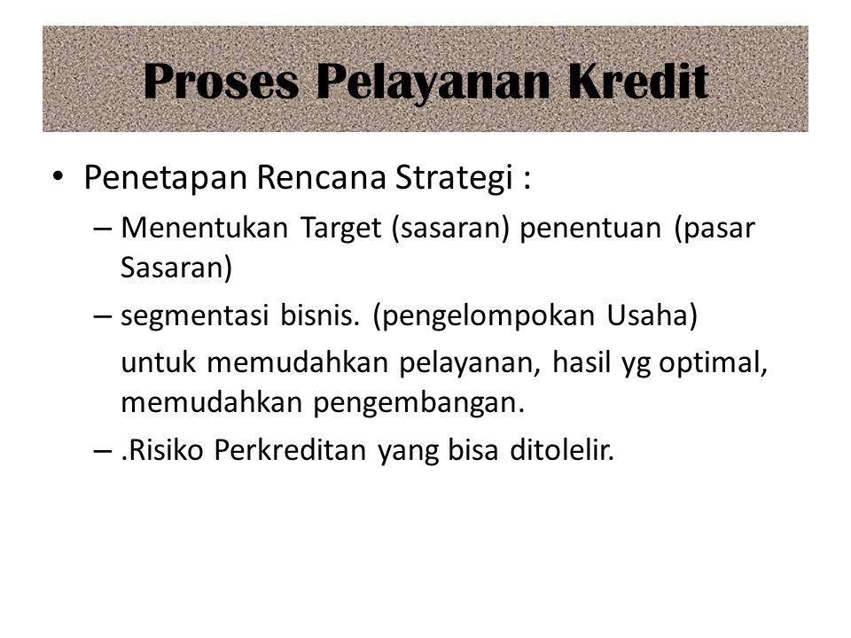 Proses Pelayanan Kredit