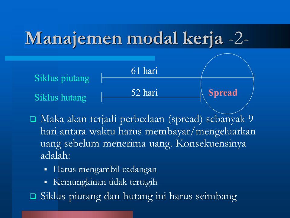 Manajemen modal kerja -2-