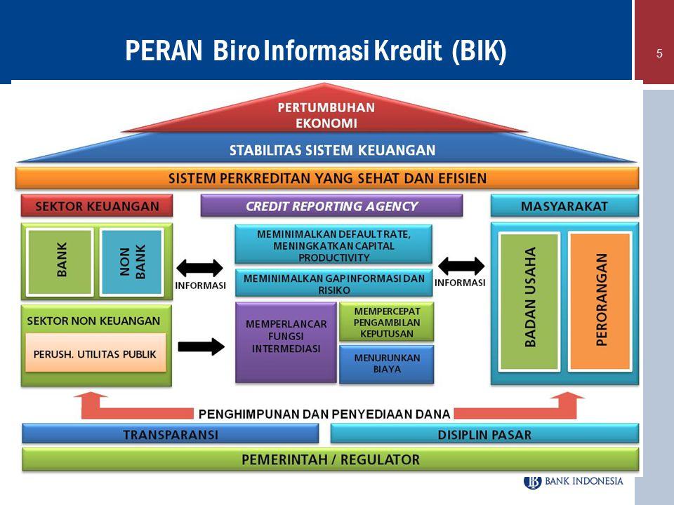 PERAN Biro Informasi Kredit (BIK)