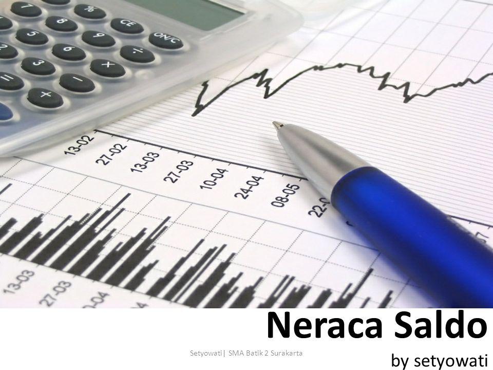 Neraca Saldo by setyowati