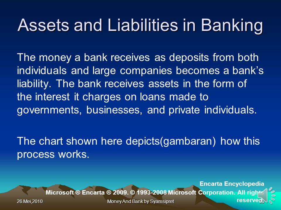 Assets and Liabilities in Banking