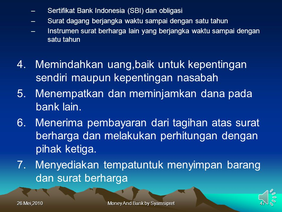 Money And Bank by Syamsipret