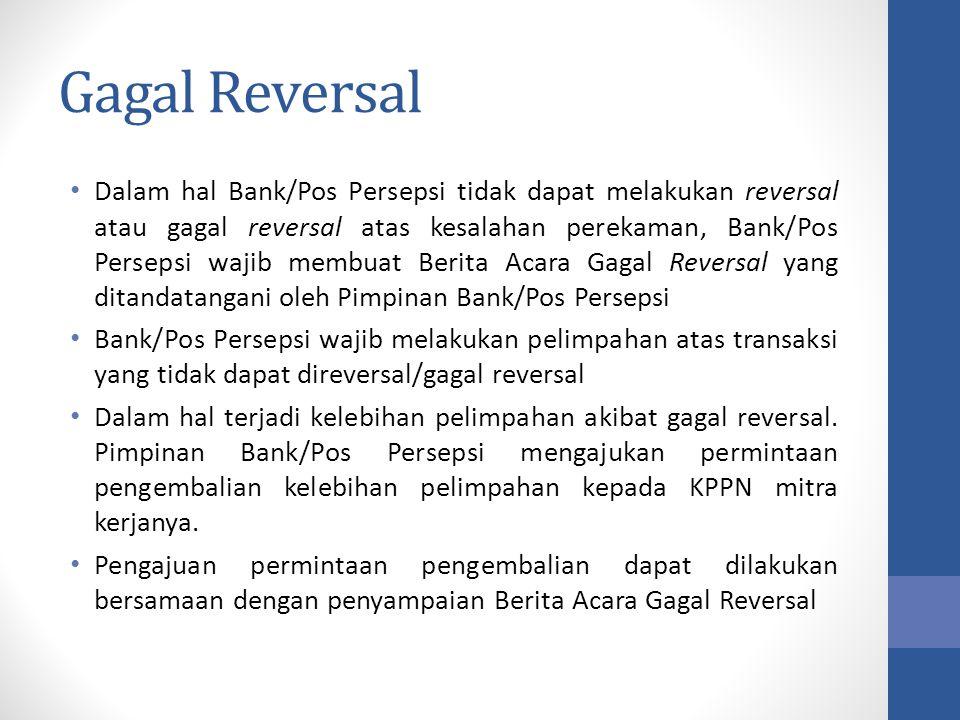 Gagal Reversal