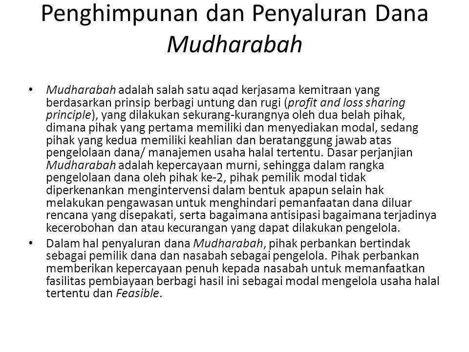 Penghimpunan dan Penyaluran Dana Mudharabah