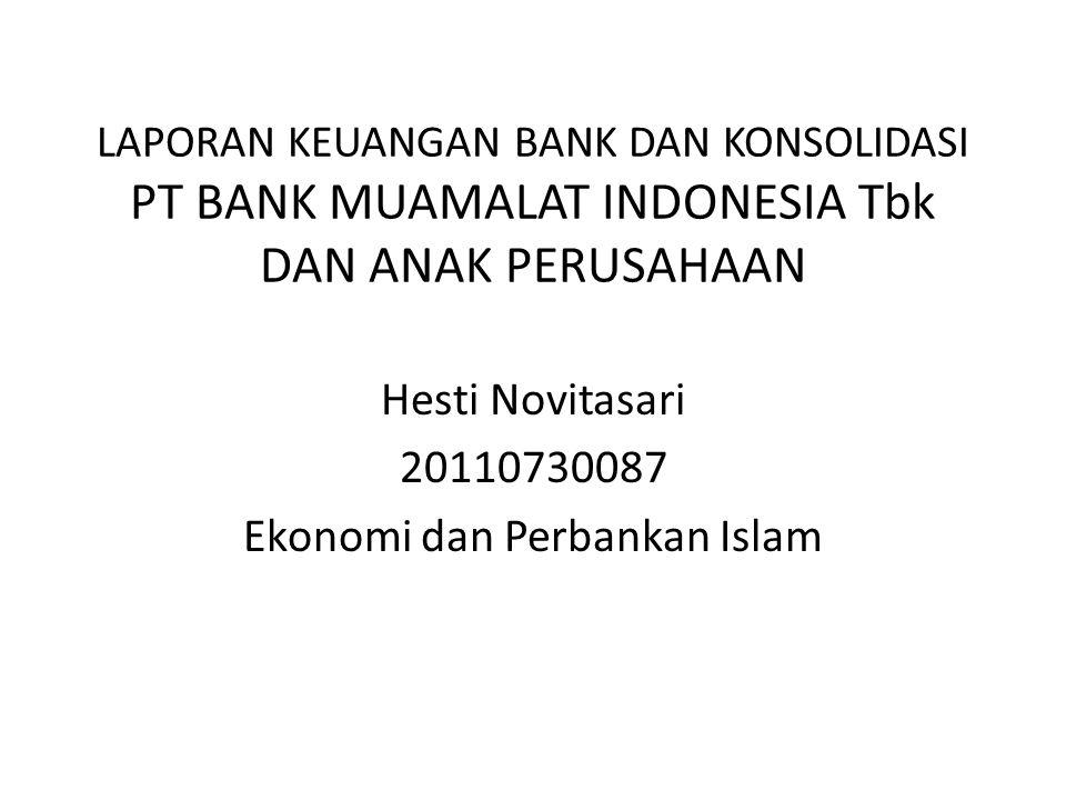 Hesti Novitasari 20110730087 Ekonomi dan Perbankan Islam