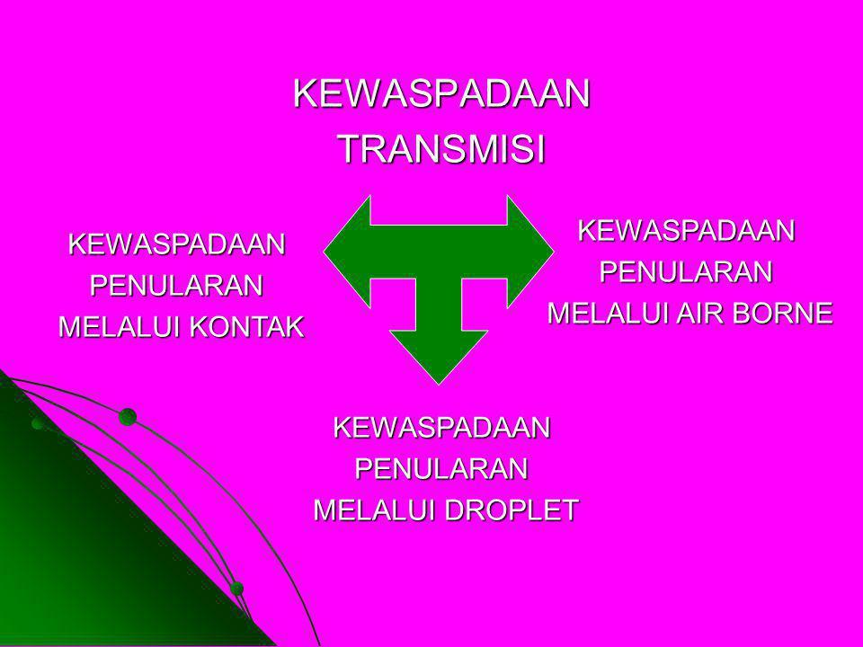 KEWASPADAAN TRANSMISI