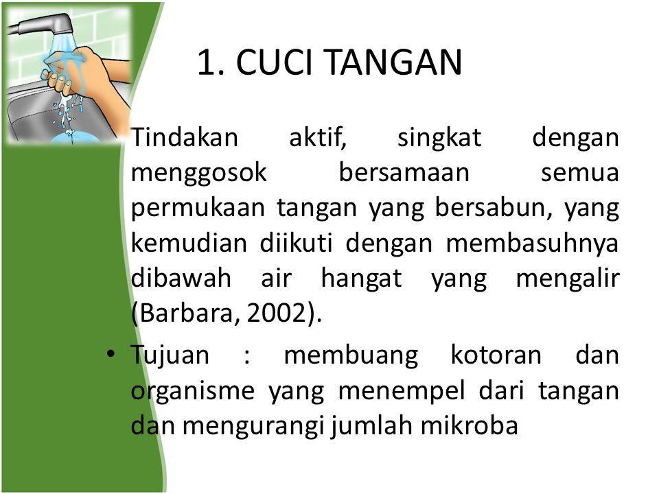 1. CUCI TANGAN