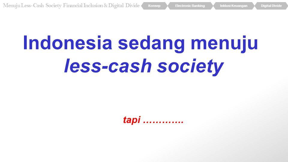 Indonesia sedang menuju