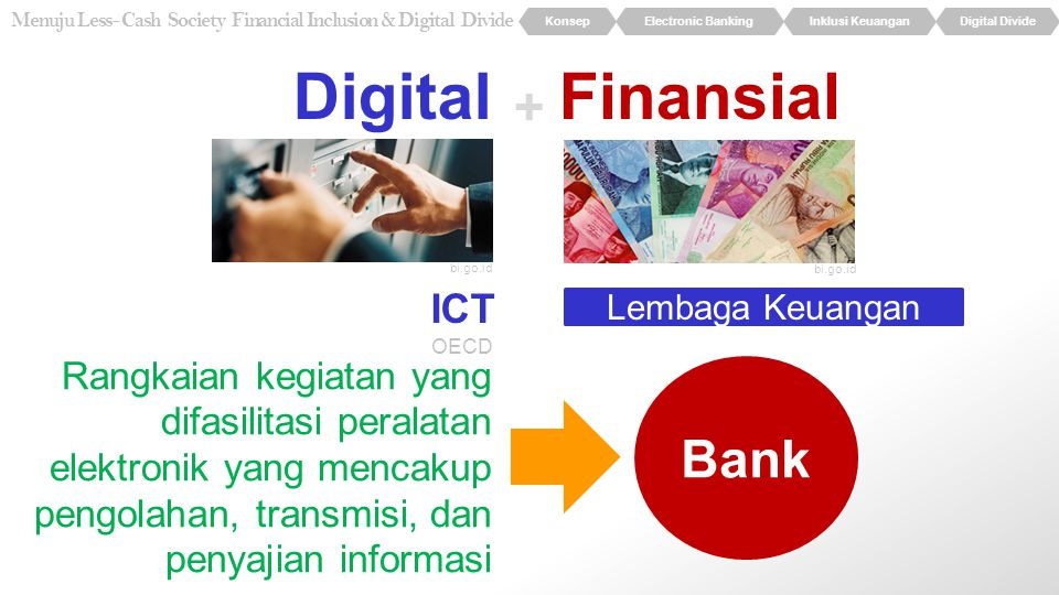 Digital Finansial + Bank ICT
