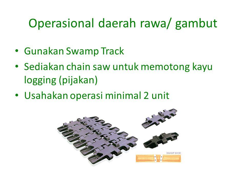 Operasional daerah rawa/ gambut
