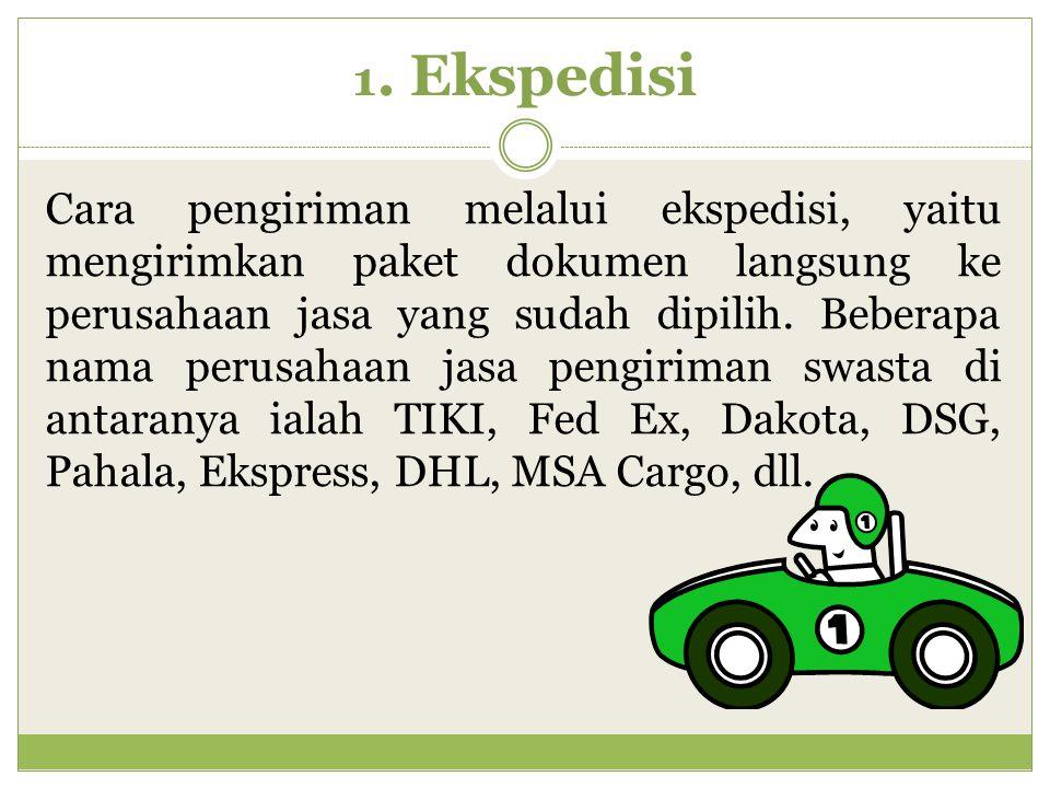 1. Ekspedisi