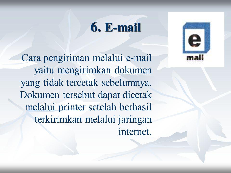 6. E-mail