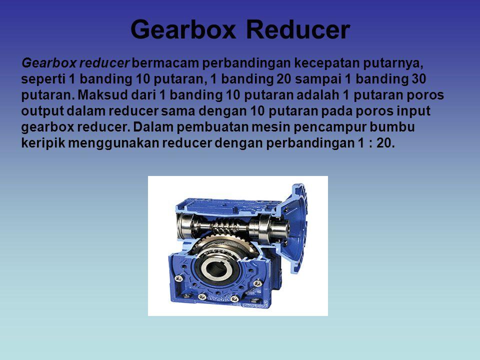 Gearbox Reducer