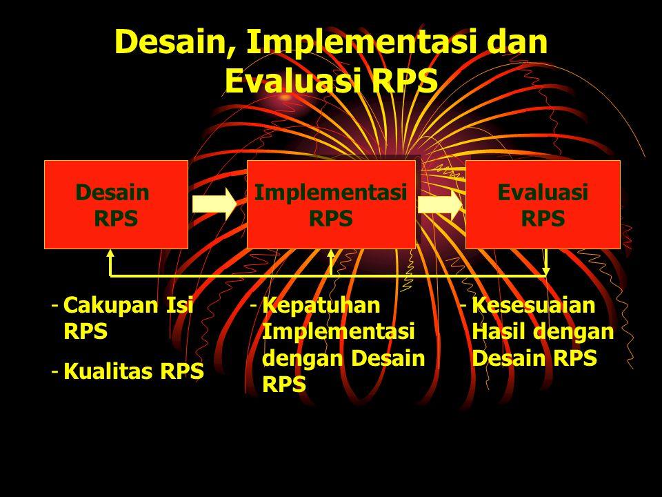 Desain, Implementasi dan Evaluasi RPS