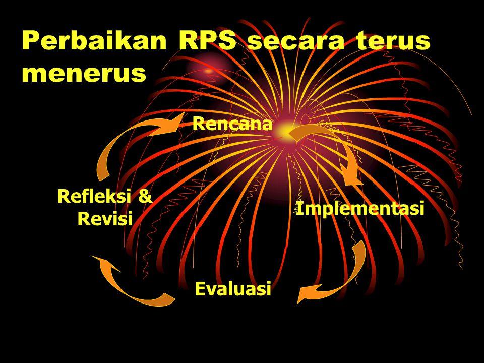 Perbaikan RPS secara terus menerus