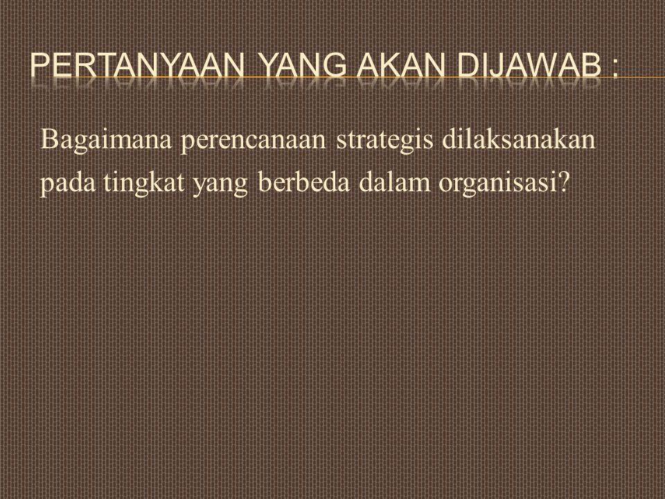 Pertanyaan yang akan dijawab :