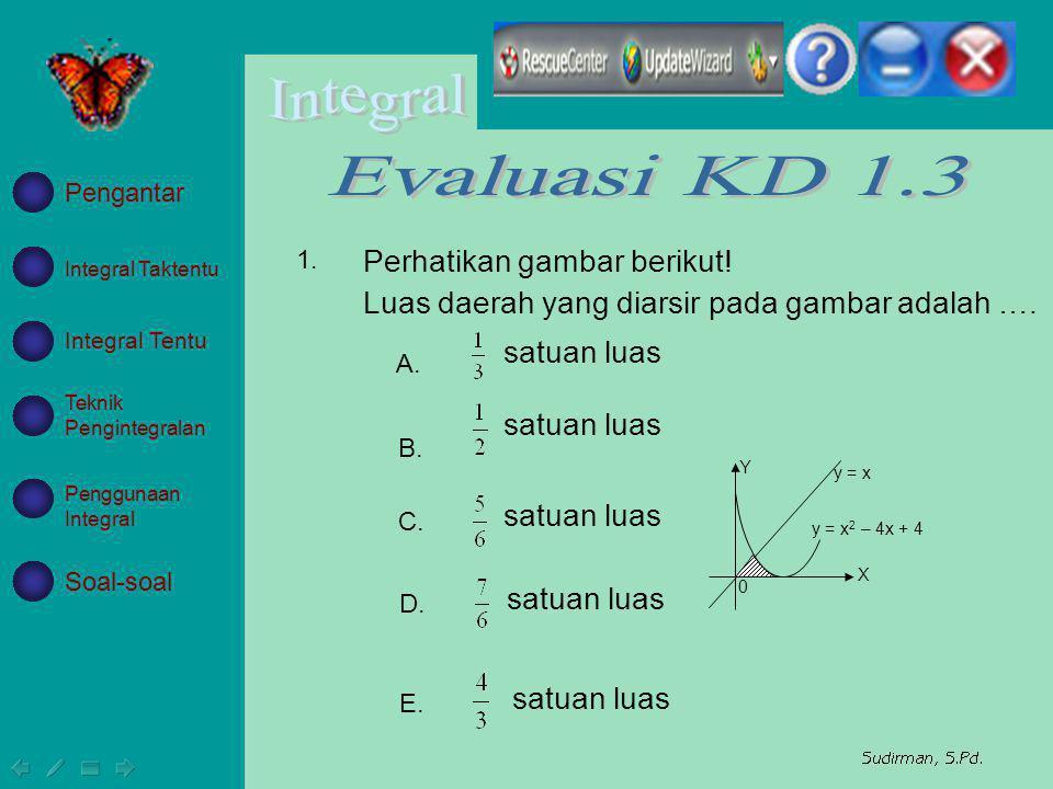 Evaluasi KD 1.3 Perhatikan gambar berikut!