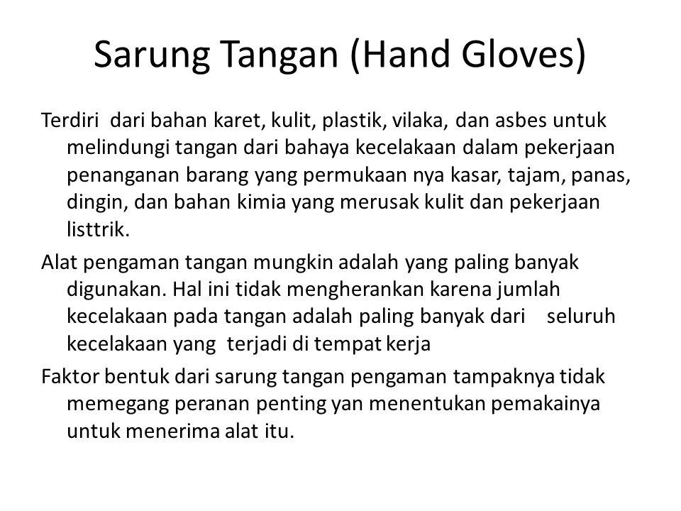 Sarung Tangan (Hand Gloves)